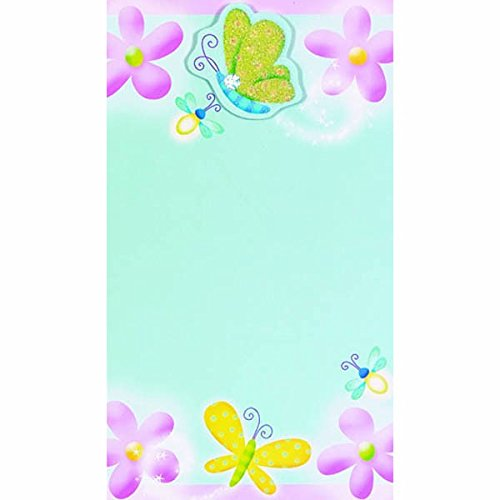 Dazzling Butterflies Imprintable Invitations | Pack of 8 | Party Supply ()