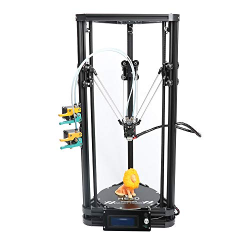 Autolevel K200 2 in 1 Out extruder DIY Delta 3D Printer kit Support Multi Material Filament high Precision