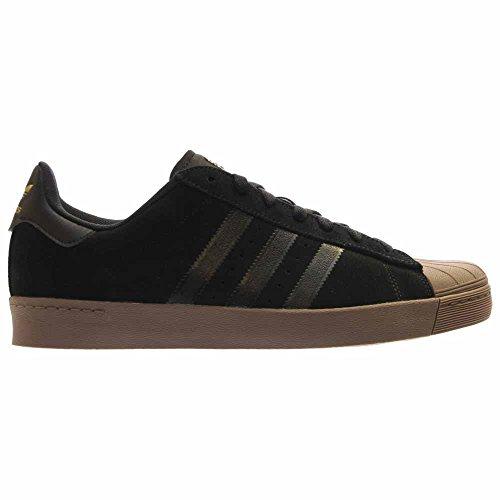 adidas Originals Mens Superstar Vulc ADV Shoes Brown/Ftwwht/Goldmt 0Vvx30Da8h