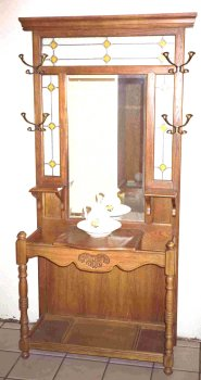 Build-Your-Own Antique Hall Tree-American Furniture Design