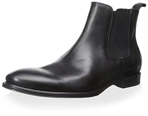 Franklin & Freeman Hommes Mitchell Plaine Chelsea Boot Noir