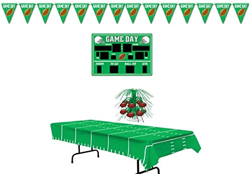 Mobile Football/ Tailgating Party Decoration set (Tailgating Decorations)