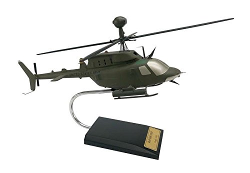 Executive Series Models Oh-58D Kiowa Helicopter (1/30 Scale)