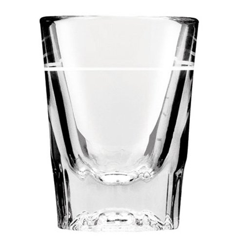 Anchor Hocking 5282 Shot Glass 2 oz. Capacity, Line at 1 oz. by Anchor Hocking
