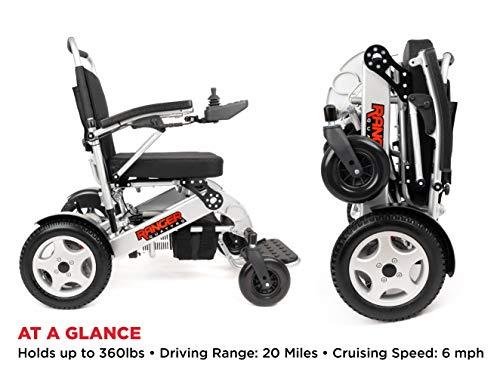 Porto Mobility Ranger Royce Ultra Premium Portable Power Wheelchair...