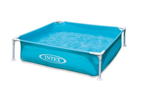 Frame Pool Round (Intex Mini Frame Pool, Blue)