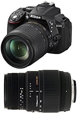 Nikon D5300 + 18-105 VR + SIGMA 70-300 DG MACRO: Amazon.es ...