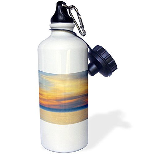 Danita Delimont - Seascape - USA, Michigan, Upper Peninsula. Lake Superior sunset. - 21 oz Sports Water Bottle (wb_230964_1) by 3dRose