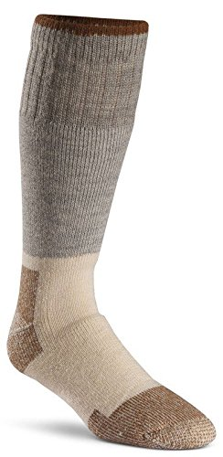 (Fox River Men's Wick Dry Steel-Toe Wool Boot Mid-Calf, Grey, Medium)