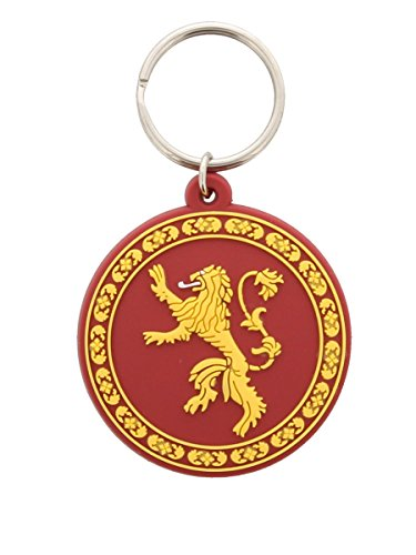 Game of Thrones House Lannister Sigil Keychain