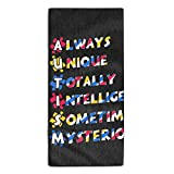 Facial Tissue As Toilet Paper - Autism Awareness Printed Kitchen Towels/Microfiber Cleaning Cloth/Tea Towels/Dish Rags,Multipurpose for Kitchen,Drawing Room,Bathroom and Car