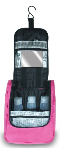 The Glo Bag Hanging Cosmetic Bag Hot Pink