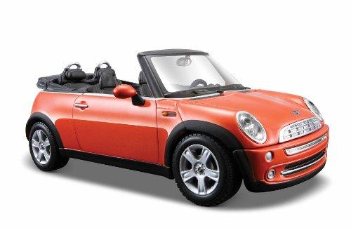 Maisto 1:24 Scale Mini Cooper Cabrio Diecast Vehicle , Orange