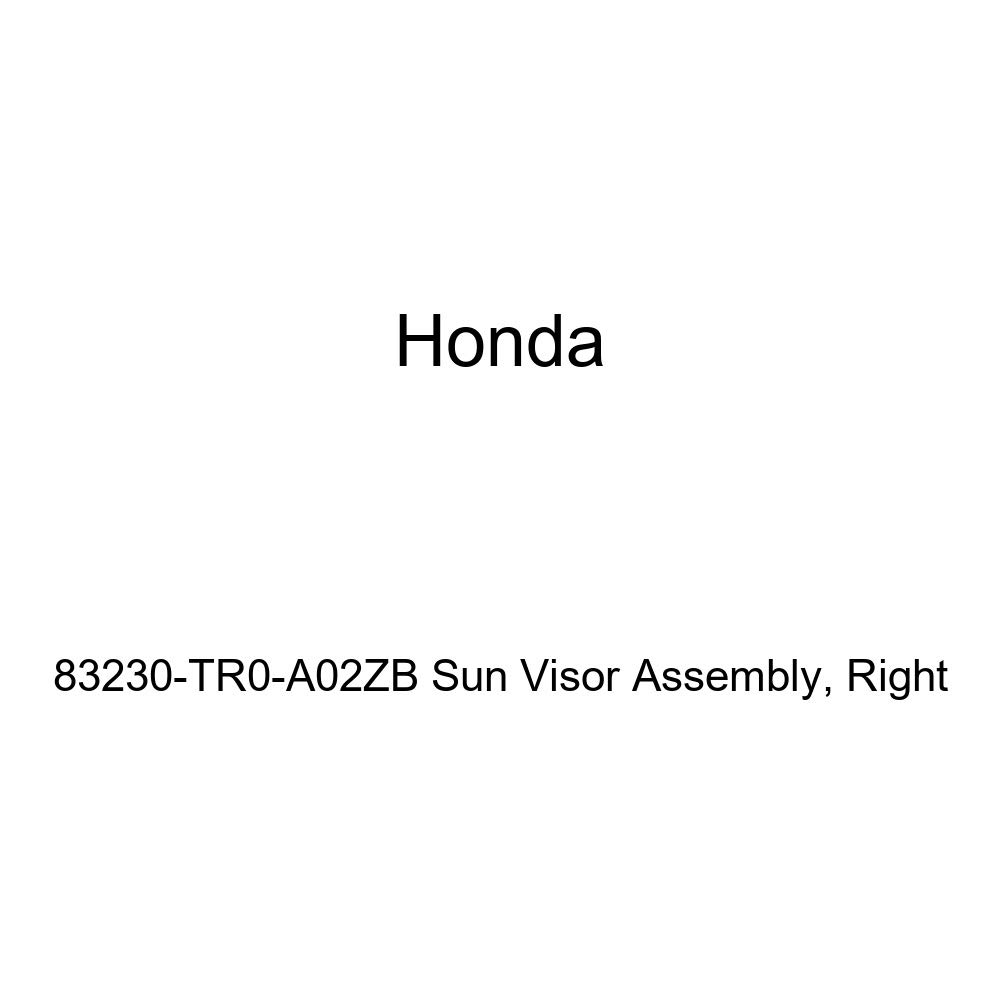 Right Honda Genuine 83230-TR0-A02ZB Sun Visor Assembly