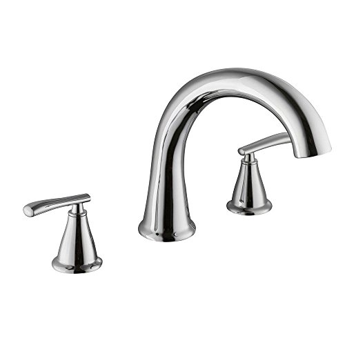 2 Handle Roman Tub Faucet in Chrome