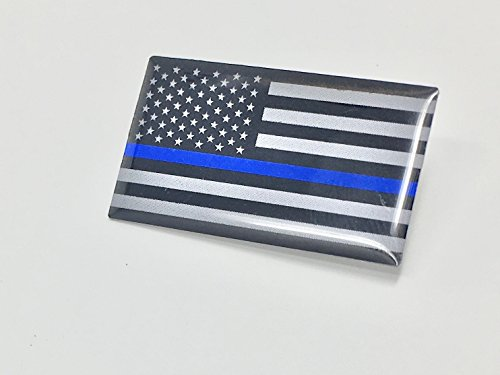 Thin Blue Line Subdued Lapel Pin