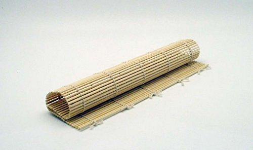JapanBargain S-1574, Sushi Roller Bamboo Mat, 10.5-inch (Japan Sushi)