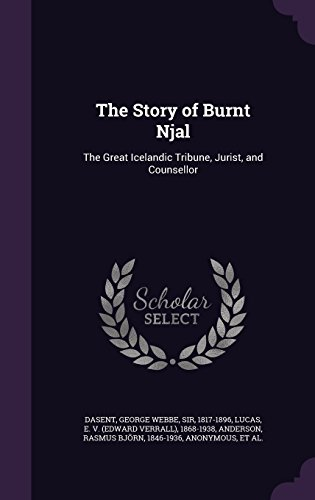 Sr Maharaj Attorneys The Story Of Burnt Njal The Great Icelandic