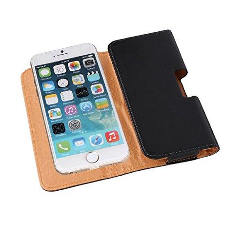 Gürteltasche für Apple iPhone X, schwarz. Holster Schutz Hülle Tasche belt clip Hosentasche Outdoortasche Outdoorcase Hiking camping wandern (Wir zahlen Steuern in Deutschland!)