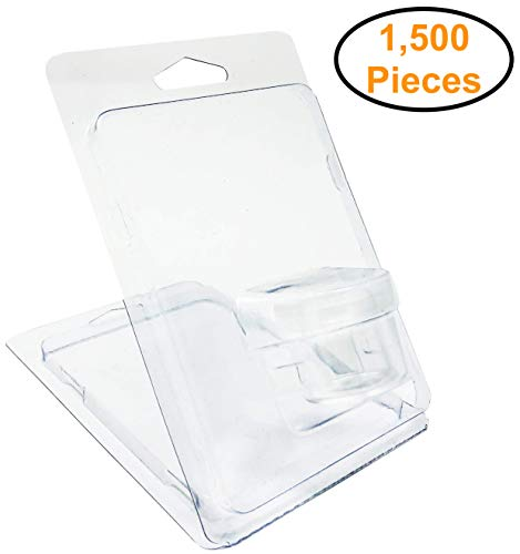 1,500pcs - Clamshell Blister Packaging for 6ml Glass Jar Container