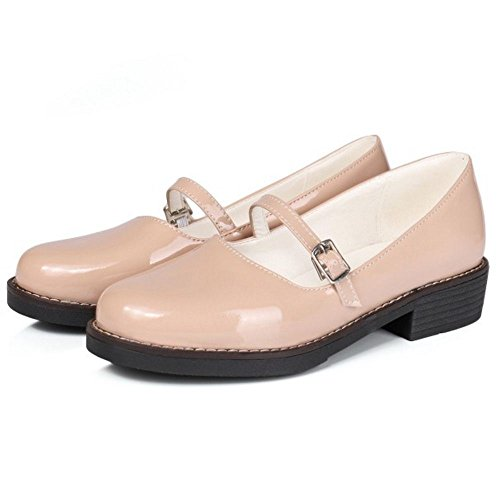 Zanpa Ivory Girls Comfortable Shoes School Flats BBr1p