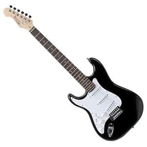 Rocktile Pro ST3-BK-L Lefty - Guitarra eléctrica, color negro