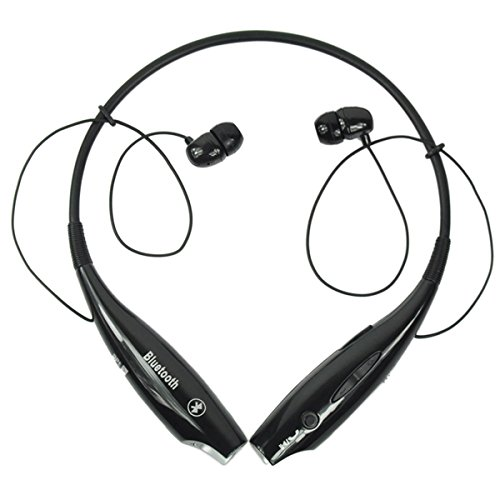 Stereo BLUETOOTH (Blue Tooth) Wireless Headset for Nokia 7210 Supernova Cellphone + Free Cell Phone Antenna Booster