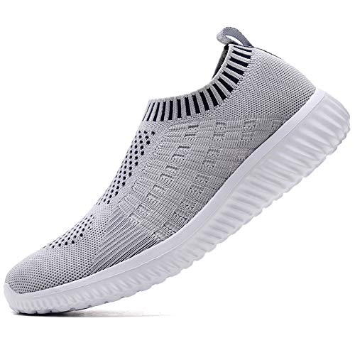 TIOSEBON Women Athletic Walking Shoes Casual MeshComfortable Work Sneakers