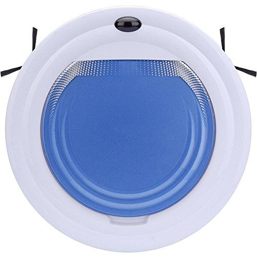 Balayeuse À Télécommande Domestique Intelligente D'aspiration Élevée Silencieuse De Robot Aspirateur,Blue,30*6Cm
