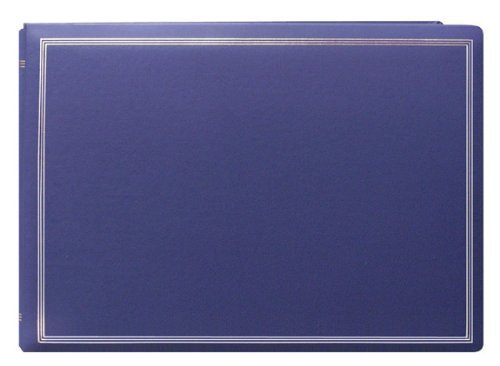 Deluxe Jumbo Magnetic Photo Album, Holds All Popular Size Photos, Bay Blue