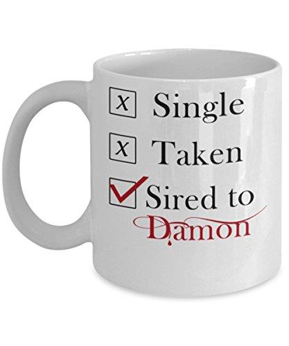 Sired To Damon - By: Trinkets & Novelty - Novel Series Vampi