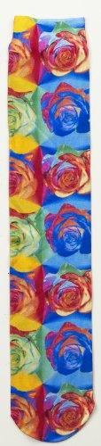 Zocks Boot Socks Door Ovation Multi Abstract Roses