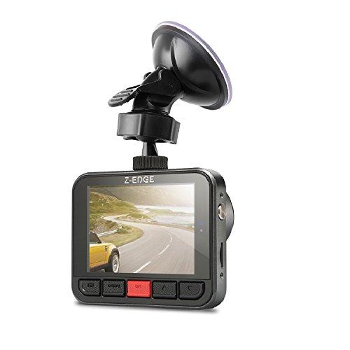 Z-Edge Z1PLUS Dash Cam Car DVR Dashboard Camera, Full HD 2304x1296p/30fps, 150 Degree Wide Angle FOV with G-sensor, WDR Superior Quality Night Vision, 6-Glass Lenses