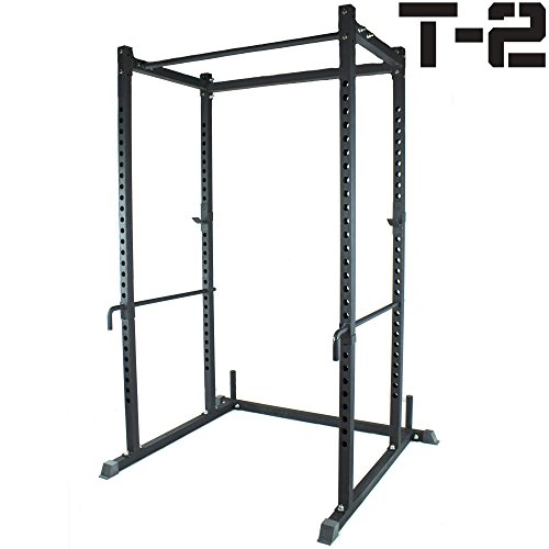 Titan Power Rack Squat Deadlift HD Lift Cage Bench Racks stand cross fit pull up by Titan Fitness