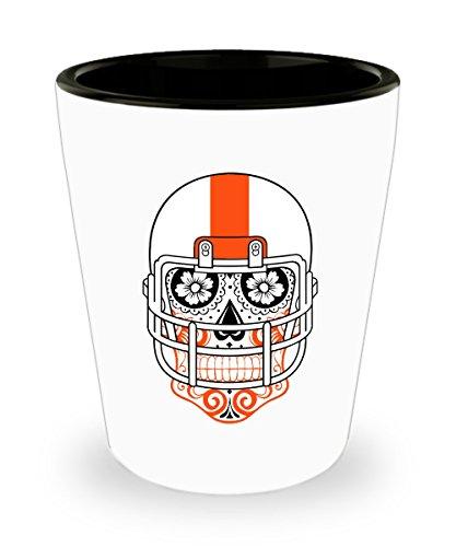Cincinnati Bengals Sugar - Cincinnati Shot Glass - Cincinnati Sugar Skull Hometown Pride Football Fan