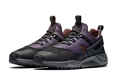 Nike 806979-001, Scarpe da Basket Uomo Nero (Black / Pitch-purple Dynasty)
