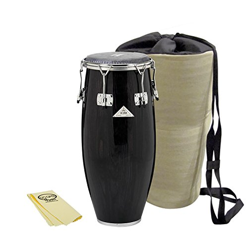 Gon Bops Alex Acuna Special Edition 9.75-Inch Super Quinto with Carry Bag and GoDpsMusic Polish Cloth by Gon Bops
