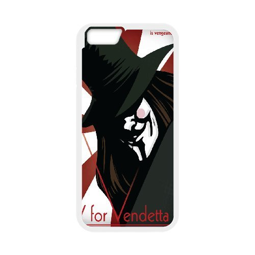 "LP-LG Phone Case Of V for Vendetta For iPhone 6 Plus (5.5"") [Pattern-3]"