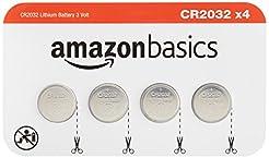 AmazonBasics CR2032 3 Volt Lithium Coin ...