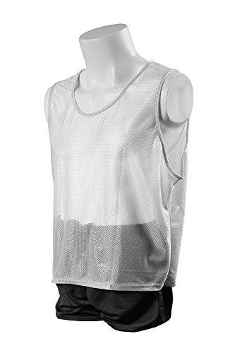Vest Mesh Deluxe - Kwik Goal Adult Deluxe Scrimmage vest (White)
