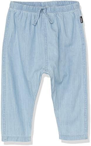PANTS OUTFIT CHAMBRAY SIZE 00 0 1 2 BONDS BABY GIRL BOY SUMMER DENIM DRESS