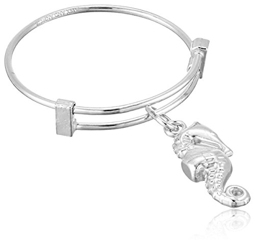 Alex and Ani Expandable Wire Seahorse Stackable Ring, Sizes 7-9