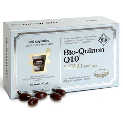 Bio-Quinone Pharma Nord Q10 Gold Capsules 100Mg 150 Capsules by Bio-quinone