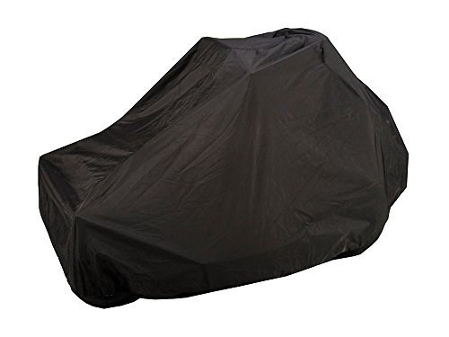 CoverMates – Zero Turn Mower Cover – 50W x 80D x 48H inches – Classic Collection – 2 YR Warranty – Year Around Protection - Black