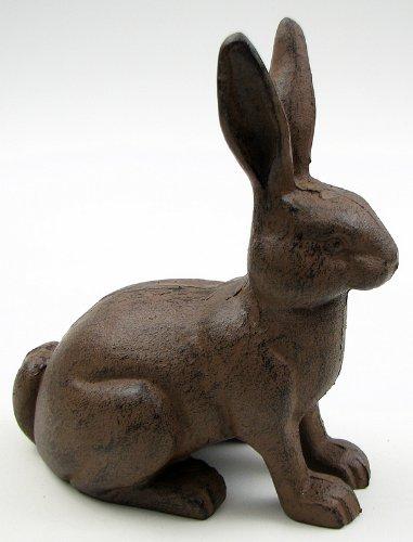 Rabbit Figurine or Door Stop - Cast Iron