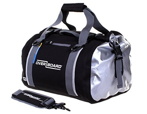 Overboard Classic Waterproof Duffel Bag - Black, 40 Litres by Overboard