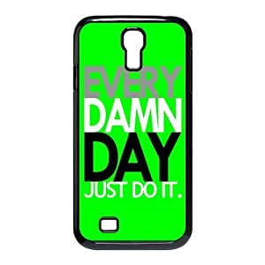Custombox Just Do It Samsung Galaxy S4 I9500 Case Plastic Hard Phone Case for Samsung Galaxy S4-Samsung Galaxy S4-DF00314