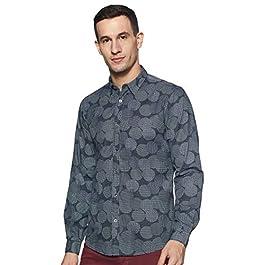 Buy Pepe Jeans Polka Dot Mens Shirt India 2021