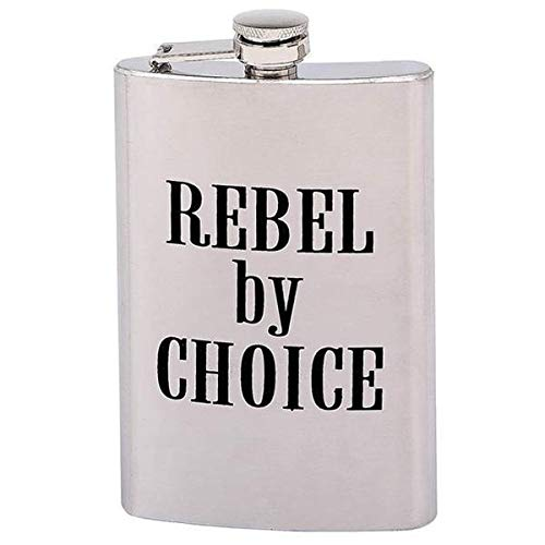 - REBEL by CHOICE 8 oz. Stainless Steel Flask - One Size