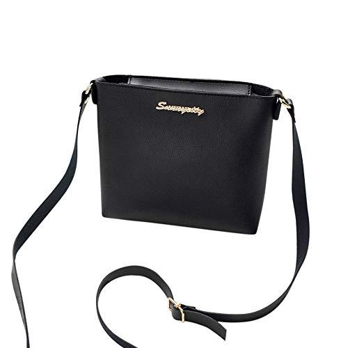 Femmes À Fermeture Bag Messenger Black Femme En Main Ladies Sac Nouveau Handbag Pu Éclair Limotai Souple Bandoulière gwqEYU